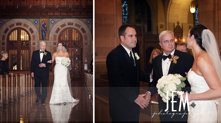 Toledo Ohio Wedding Photographer Rosary Cathedral