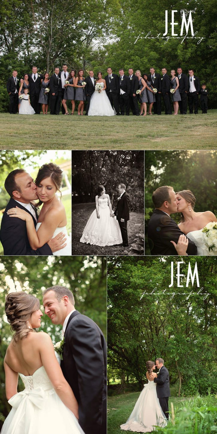 Monroe MI wedding photographer