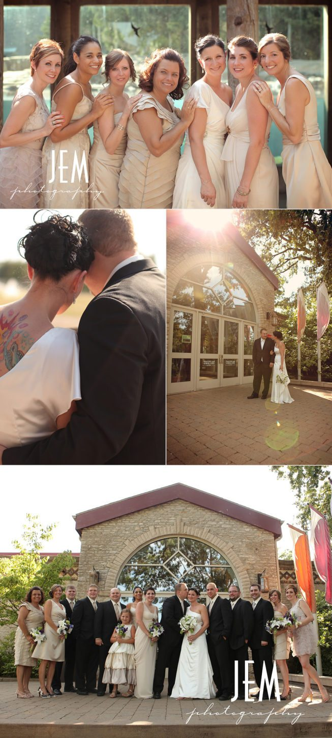 Toledo Zoo Wedding Photographer