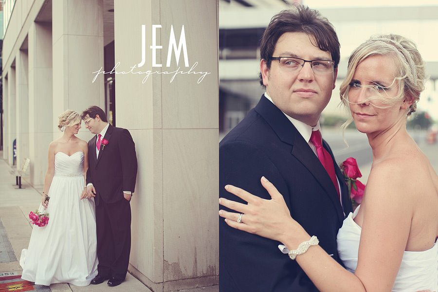 Downtown Toledo Wedding Photographer