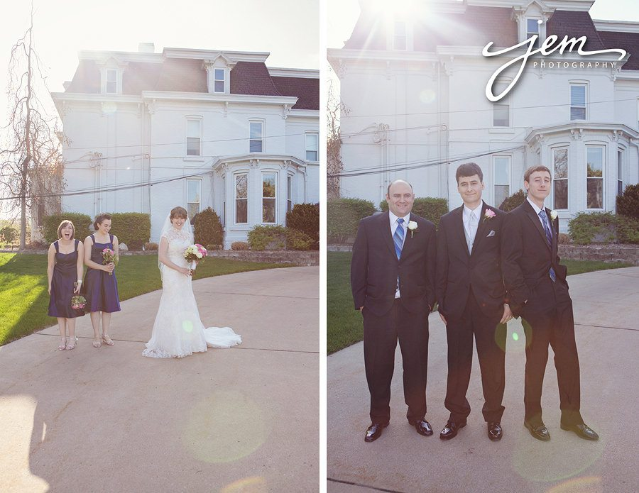 Monroe Golf and Country Club Wedding